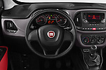 Car pictures of steering wheel view of a 2018 Fiat Doblo Street 5 Door MPV