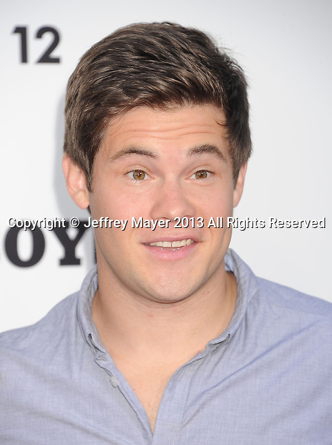 WESTWOOD, CA- JUNE 03: Actor Adam DeVine arrives at the 'This Is The End' - Los Angeles Premiere at Regency Village Theatre on June 3, 2013 in Westwood, California.