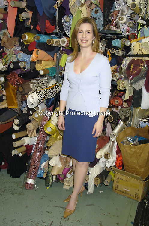 Martha Byrne..at Nicole Miller's Showroom on April 20, 2005 where Martha was picking out a dress for the Emmy Awards 2005. Her dress will be auctioned for Clothes off Our Backs which donates money to children's charities. ..Photo by Robin Platzer, Twin Images