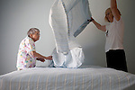 Claudia Smith Brinson helps her mother June Stone, 82, pack up her home, call doctors to transfer records, sell her home and move from Beverly Hills, Florida to an assisted living community called Still Hopes in Columbia, South Carolina. June fell several times and taking off work to drive to Florida and assist her mother time and time again was putting a strain on her daughter. June had a community of friends in Beverly Hills and had to leave them behind, as well as the home she shared with her late husband Irv...Kendrick Brinson/LUCEO