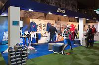 11-02-14, Netherlands,Rotterdam,Ahoy, ABNAMROWTT,Asics stand in tennisplaza<br /> Photo:Tennisimages/Henk Koster