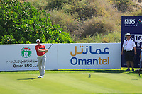 Richard McEvoy (ENG) during the third round of the NBO Open played at Al Mouj Golf, Muscat, Sultanate of Oman. <br /> 17/02/2018.<br /> Picture: Golffile | Phil Inglis<br /> <br /> <br /> All photo usage must carry mandatory copyright credit (&copy; Golffile | Phil Inglis)