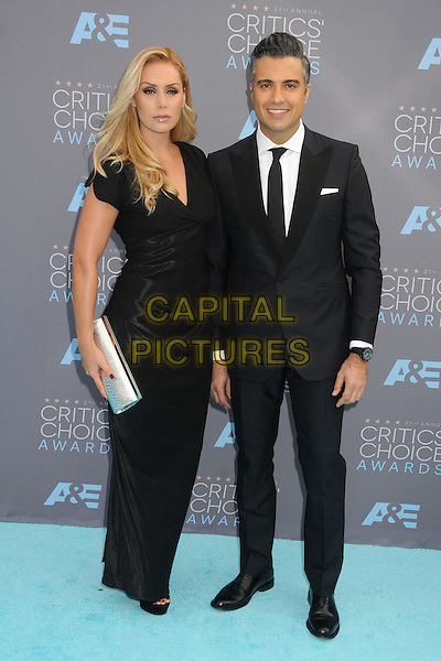 17 January 2016 - Santa Monica, California - Heidi Balvanera, Jaime Camil. 21st Annual Critics' Choice Awards - Arrivals held at Barker Hangar. <br /> CAP/ADM/BP<br /> &copy;BP/ADM/Capital Pictures