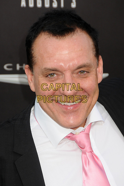 "Tom Sizemore.""Total Recall"" Los Angeles Premiere held at Grauman's Chinese Theatre, Hollywood, California, USA..August 1st, 2012.headshot portrait black white shirt pink tie.CAP/ADM/BP.©Byron Purvis/AdMedia/Capital Pictures."