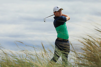 Odhran Maguire of Ireland during day 1 of the Boys' Home Internationals played at Royal Dornoch, Dornoch, Sutherland, Scotland. 07/08/2018<br /> Picture: Golffile | Phil Inglis<br /> <br /> All photo usage must carry mandatory copyright credit (&copy; Golffile | Phil Inglis)