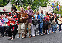 Polonaise  bij het Jordaan Festival in Amsterdam
