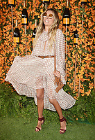 PACIFIC PALISADES, CA - OCTOBER 06: Erica Pelosini arrives at the 9th Annual Veuve Clicquot Polo Classic Los Angeles at Will Rogers State Historic Park on October 6, 2018 in Pacific Palisades, California.<br /> CAP/ROT/TM<br /> &copy;TM/ROT/Capital Pictures