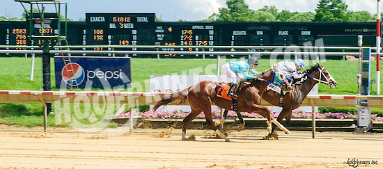 Thurman Merman winning at Delaware Park on 6/8/16