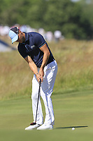Martin Kaymer (GER) putts on the 16th green during Thursday's Round 1 of the 118th U.S. Open Championship 2018, held at Shinnecock Hills Club, Southampton, New Jersey, USA. 14th June 2018.<br /> Picture: Eoin Clarke | Golffile<br /> <br /> <br /> All photos usage must carry mandatory copyright credit (&copy; Golffile | Eoin Clarke)