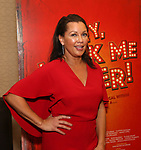 """attends the final performance after party for the New York City Center Encores! at 25 production of  """"Hey, Look Me Over!"""" on February 11, 2018 at the City Center Theatre in New York City."""