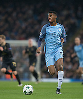 Tosin Adarabioyo of Manchester City during the UEFA Champions League GROUP match between Manchester City and Celtic at the Etihad Stadium, Manchester, England on 6 December 2016. Photo by Andy Rowland.