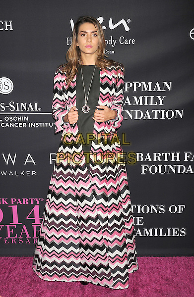 SANTA MONICA, CA- OCTOBER 18: Model Valentina Ferrer attends Elyse Walker presents the 10th anniversary Pink Party hosted by Jennifer Garner and Rachel Zoe at HANGAR 8 on October 18, 2014 in Santa Monica, California.<br /> CAP/ROT/TM<br /> &copy;Tony Michaels/Roth Stock/Capital Pictures