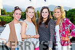 Shannon Regan, Alanna Regan, Sarah Joy and Nadia Ross at the Kerry Hospice fashion show in the INEC on Wednesday night