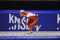 SCHAATSEN: HEERENVEEN: 04-10-2014, IJsstadion Thialf, Trainingswedstrijd, Koen Verweij, ©foto Martin de Jong