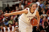 STANFORD, CA - NOVEMBER 29:  Kayla Pedersen of the Stanford Cardinal during Stanford's 105-74 win over the Gonzaga Bulldogs on November 29, 2009 at Maples Pavilion in Stanford, California.
