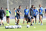 04.09.2019, Sportpark, Berlin, GER, 1.FBL, DFL,, Hertha BSC Training,<br /> DFL, regulations prohibit any use of photographs as image sequences and/or quasi-video<br /> im Bild Cheftrainer (Head Coach) Ante Comic (Hertha BSC Berlin), Co-Trainer Harry Gaemperle (Hertha BSC Berlin), Vedad Ibisevic (Hertha BSC Berlin #19), Karim Rekik (Hertha BSC Berlin #4), Alexander Esswein (Hertha BSC Berlin #9)<br /> <br />       <br /> Foto © nordphoto / Engler
