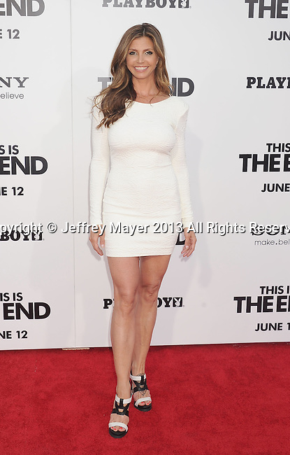 WESTWOOD, CA- JUNE 03:  Actress Charisma Carpenter arrives at the 'This Is The End' - Los Angeles Premiere at Regency Village Theatre on June 3, 2013 in Westwood, California.