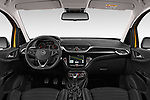 Stock photo of straight dashboard view of 2019 Opel Corsa GSI 3 Door Hatchback Dashboard