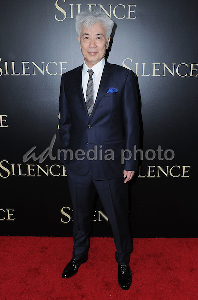 "05 January 2017 - West Hollywood, California - Issey Ogata. ""Silence"" Los Angeles Premiere held at the Directors Guild of America. Photo Credit: Birdie Thompson/AdMedia"
