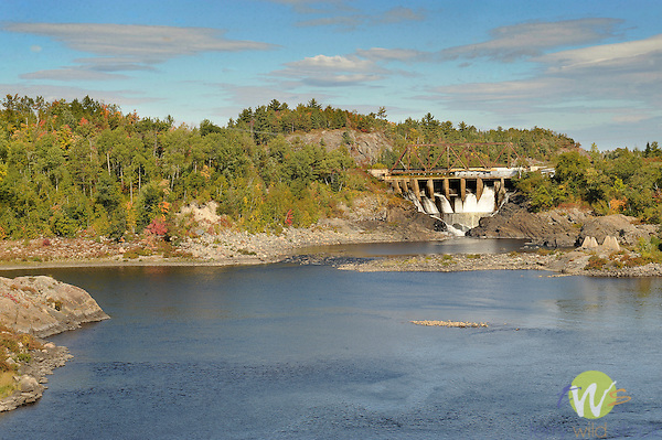 Domtar Paper Company, Serpent River and Dam..