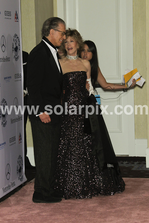**ALL ROUND PICTURES FROM SOLARPIX.COM**                                             **SYNDICATION RIGHTS FOR UK, AUSTRALIA, DENMARK, PORTUGAL, S. AFRICA, SPAIN & DUBAI (U.A.E) & ASIA (EXCLUDING JAPAN) ONLY**                                                                                  Caption:  32nd Annual Carousel Of Hope Ball - Arrivals, The Beverly Hilton, CA, USA, 23 October 2010                                                                              This pic: Jane Fonda                                                                                          JOB REF: 12371   PHZ hatcher   DATE:  23_10_2010                                                           **MUST CREDIT SOLARPIX.COM OR DOUBLE FEE WILL BE CHARGED**                                                                      **MUST AGREE FEE BEFORE ONLINE USAGE**                               **CALL US ON: +34 952 811 768 or LOW RATE FROM UK 0844 617 7637**