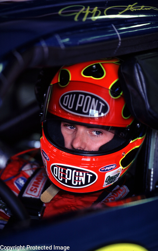 Jeff Gordon, Talladega, AL, October 2000. (Photo by Brian Cleary)