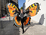 A butterfly at the Drogheda Arts Festival. Photo: Colin Bell/pressphotos.ie