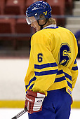 Anton Stralman (Timra IK - Toronto Maple Leafs)  The US Blue team lost to Sweden 3-2 in a shootout as part of the 2005 Summer Hockey Challenge at the National Junior (U-20) Evaluation Camp in the 1980 rink at Lake Placid, NY on Saturday, August 13, 2005.