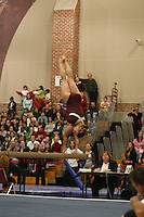 17 February 2006: Nicole Ourada during Stanford's win over the University of Arizona at Burnham Pavilion in Stanford, CA.