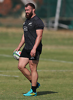 PRETORIA, SOUTH AFRICA - OCTOBER 05: Liam Coltman during the Rugby Championship New Zealand All Blacks captain's run at St David's Marist Inanda in Sandown, South Africa on Friday, October 5, 2018. Photo: Steve Haag / stevehaagsports.com