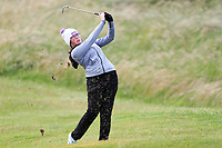 Kaelin O'Keeffe (Tralee) during the 2nd round of the Irish Women's Open Stroke Play Championship, Enniscrone Golf Club, Enniscrone, Co. Sligo. Ireland. 16/06/2018.<br /> Picture: Golffile | Fran Caffrey<br /> <br /> <br /> All photo usage must carry mandatory  copyright credit (© Golffile | Fran Caffrey)
