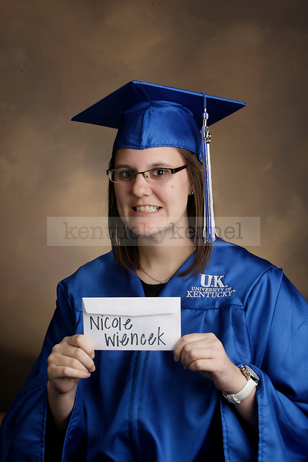 Wiencek, Nicole photographed during the Feb/Mar, 2013, Grad Salute in Lexington, Ky.