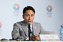 Yuki Ota, <br /> SEPTEMBER 6, 2013 : <br /> Tokyo 2020 Bib Comittee press conference <br /> at the Sheraton hotel in Buenos Aires Argentina, <br /> (Photo by YUTAKA/AFLO SPORT) [1040]