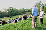 The Donga play about  St George  and the  Dragon on a Surrey Golf course. Reclaim the land . St Georges Hill and Wisley Airfield. 1995