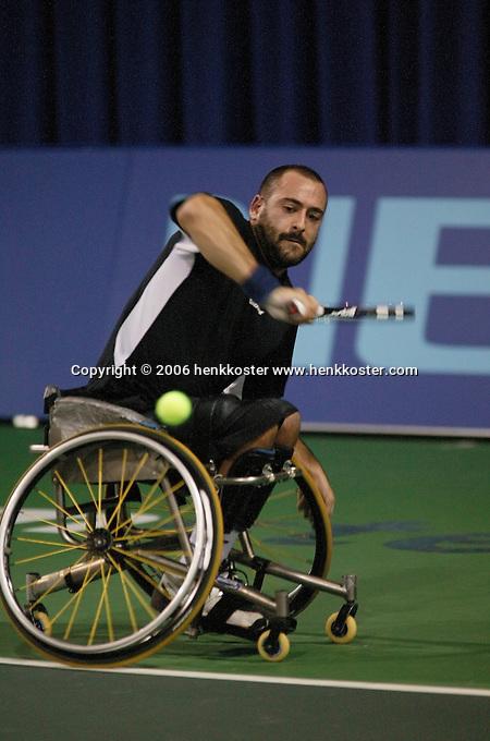 18-11-06,Amsterdam, Tennis, Wheelchair Masters, Michael Jeremiasz
