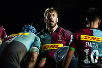 Chris Robshaw of Harlequins. Gallagher Premiership match, between Harlequins and Saracens on October 6, 2018 at the Twickenham Stoop in London, England. Photo by: Patrick Khachfe / JMP