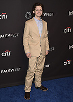 """HOLLYWOOD, CA - MARCH 21: Montana Jordan at PaleyFest 2018 - """"Young Sheldon"""" at the Dolby Theatre on March 21, 2018 in Hollywood, California. (Photo by Scott KirklandPictureGroup)"""
