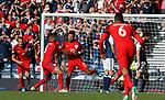 Alex Oxlade-Chamberlain scores for England