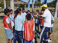 Fussball 63. FIFA Kongress auf Mauritius 2013    28.05.2013 FIFA Football For Health Aktion im Vorfeld des FIFA Kongress auf Mauritius 2013