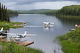 USA, Alaska, Talkeetna, alaska bush floatplane service south of Talkeetna, McKinley Scenic