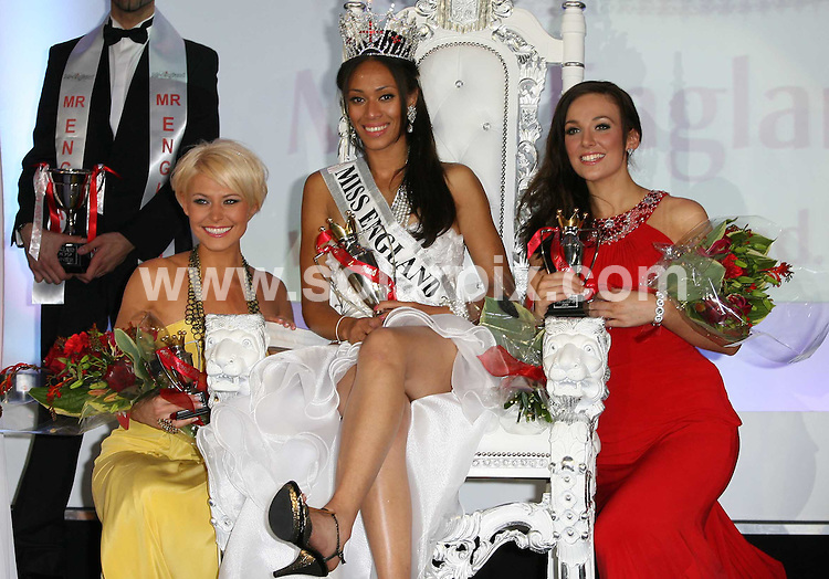 **ALL ROUND PICTURES FROM SOLARPIX.COM**.**WORLDWIDE SYNDICATION RIGHTS**.the 2009 Miss England Contest held at the London Hilton Metropole Hotel, which showcased 54 finalists. London, UK.  20 July 2009..This pic: From L-R in 2nd place Viki Bailey, this years winner Rachel Christie followed by 3rd Kat Hodge..JOB REF: 9539 LNJ     DATE: 20_07_2009.**MUST CREDIT SOLARPIX.COM OR DOUBLE FEE WILL BE CHARGED**.**ONLINE USAGE FEE GBP 50.00 PER PICTURE - NOTIFICATION OF USAGE TO PHOTO @ SOLARPIX.COM**.**CALL SOLARPIX : +34 952 811 768 or LOW RATE FROM UK 0844 617 7637**