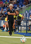 Atalanta BC's coach Gianpiero Gasperini during friendly match. August 10,2019. (ALTERPHOTOS/Acero)