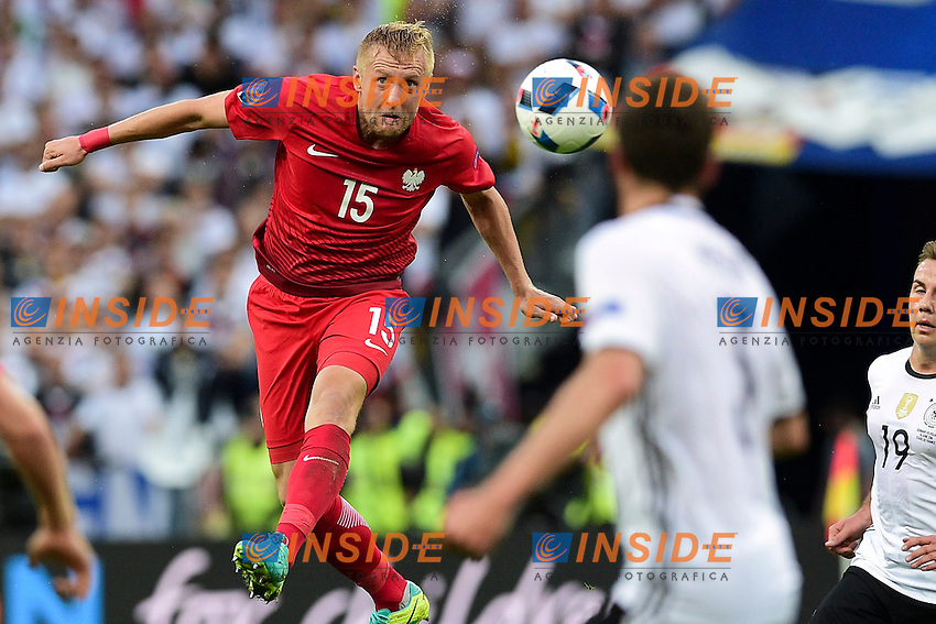 Kamil Glik (Pol) <br /> Paris 16-06-2016 Stade de France Football Euro2016 Germany - Poland / Germania - Polonia Group Stage Group C. Foto JB Autissier / Panoramic / Insidefoto