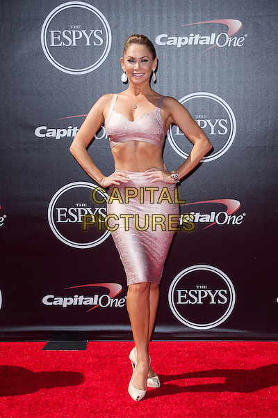 LOS ANGELES, CA - JULY 16: Kym Johnson at the 2014 ESPYs at Nokia Theatre L.A. Live in Los Angeles, California on July 16th, 2014.   <br /> CAP/MPI/mpi99<br /> &copy;mpi99/MediaPunch/Capital Pictures