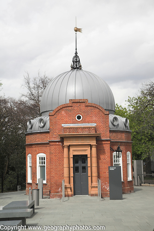 The Altazimuth building, Royal Observatory, Greenwich, London, England