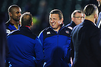 Bath Rugby first team coach Toby Booth looks on after the match. Aviva Premiership match, between Bath Rugby and Sale Sharks on October 7, 2016 at the Recreation Ground in Bath, England. Photo by: Patrick Khachfe / Onside Images