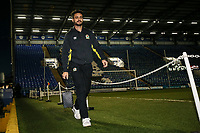 Blackburn Rovers' Derrick Williams arriving at the stadium<br /> <br /> Photographer Andrew Kearns/CameraSport<br /> <br /> The EFL Sky Bet League One - Portsmouth v Blackburn Rovers - Tuesday 13th February 2018 - Fratton Park - Portsmouth<br /> <br /> World Copyright &copy; 2018 CameraSport. All rights reserved. 43 Linden Ave. Countesthorpe. Leicester. England. LE8 5PG - Tel: +44 (0) 116 277 4147 - admin@camerasport.com - www.camerasport.com