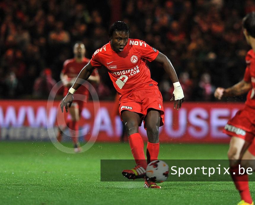 KV Kortrijk - KV Oostende : Elimane Coulibaly <br /> foto VDB / Bart Vandenbroucke