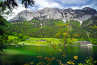 Berchtesgaden, Bavaria, Germany, May 2006. Lake Hintersee. The beauty of berchtesgadener Land lies in the spectacular mountain landscapes, combined with age old traditions and a welcoming culture. Photo by Frits Meyst/Adventure4ever.com