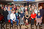 Robbie O'Sullivan, Tralee, celebrating his 21st Birthday with family and friends at the Abbey Inn on Saturday